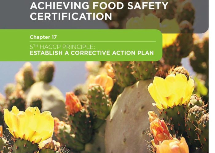 27. Your Guide to Achieving Food Safety Certification Part 2: Chapter 17