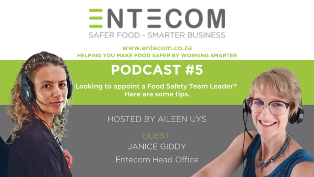 Finding the Right Food Safety Team Leader