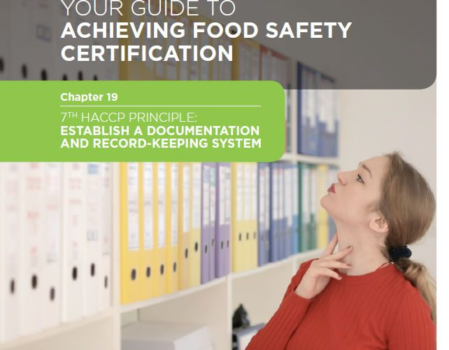 29. Your guide to achieving Food Safety Certification: Chapter 19