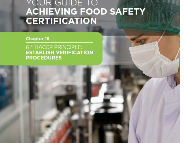 28. Your guide to achieving Food Safety Certification Chapter 18