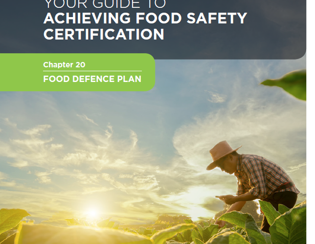30. Your guide to achieving food safety certification Chapter 20